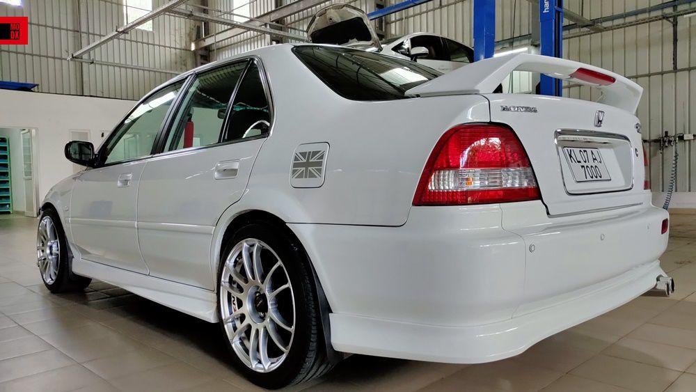 Honda City white