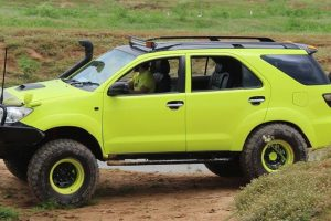 Fortuner goes offroad