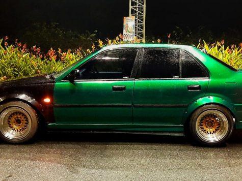 Green Honda City