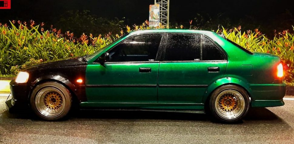 Green Honda City