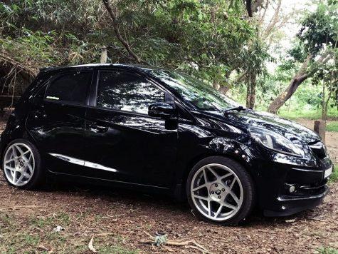 Honda Brio star alloy wheel