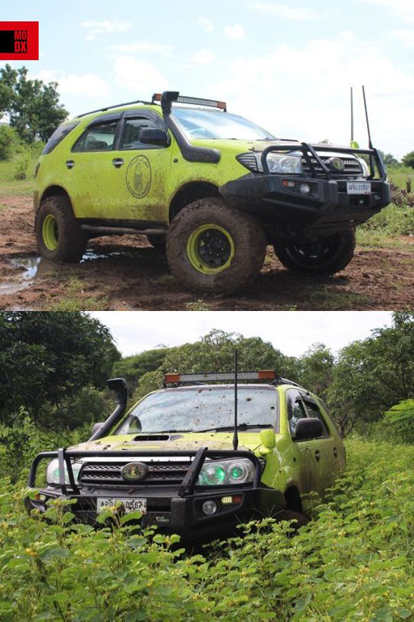 Green fortuner modified