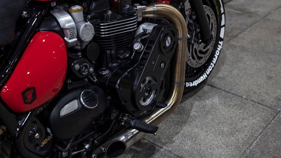 Engine supercharge mod motorcycle