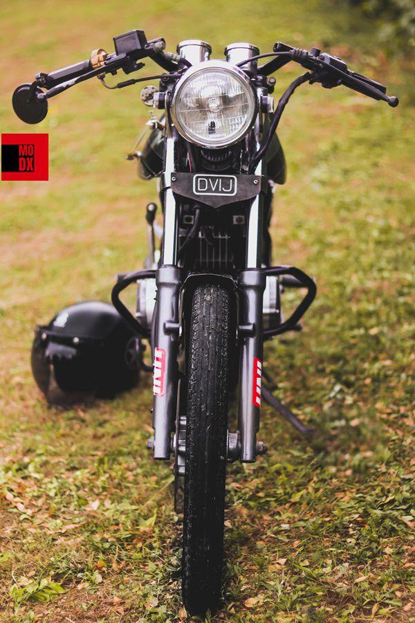 vintage bikes modified india