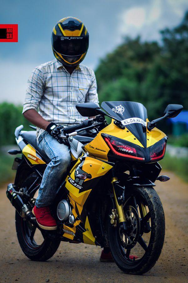 r15 rider yellow