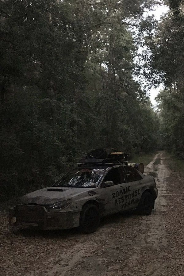 Zombie apocalypse car