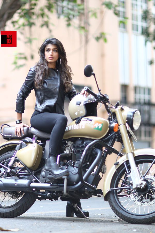 Royal Enfield rider girls Mumbai