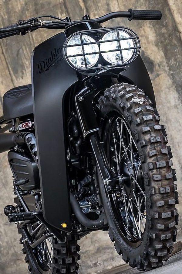 Honda cub black mod