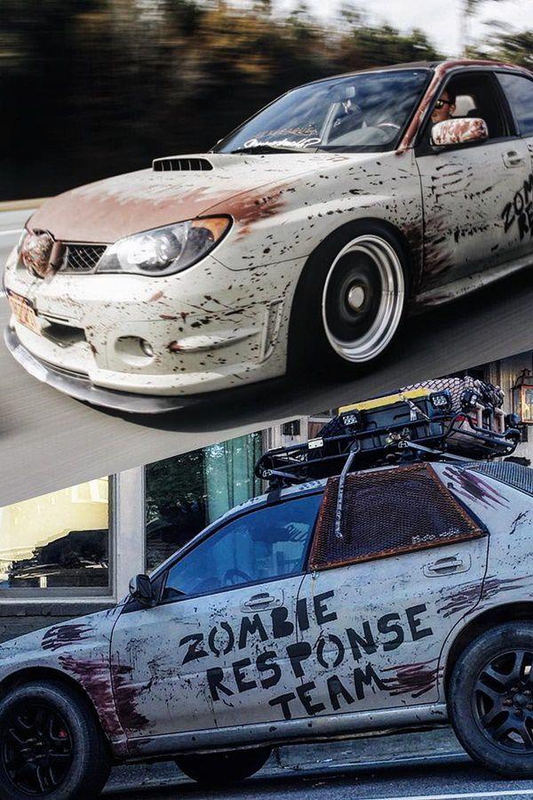 Zomibie Apocalypse Rust wrap