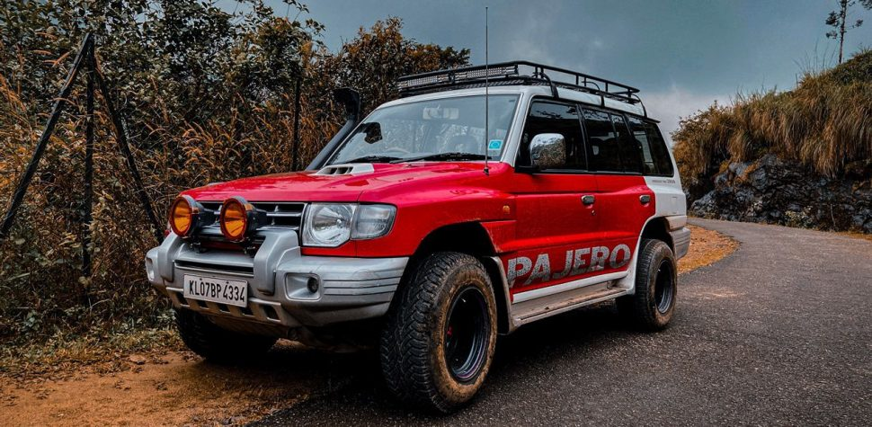 Pajero modification