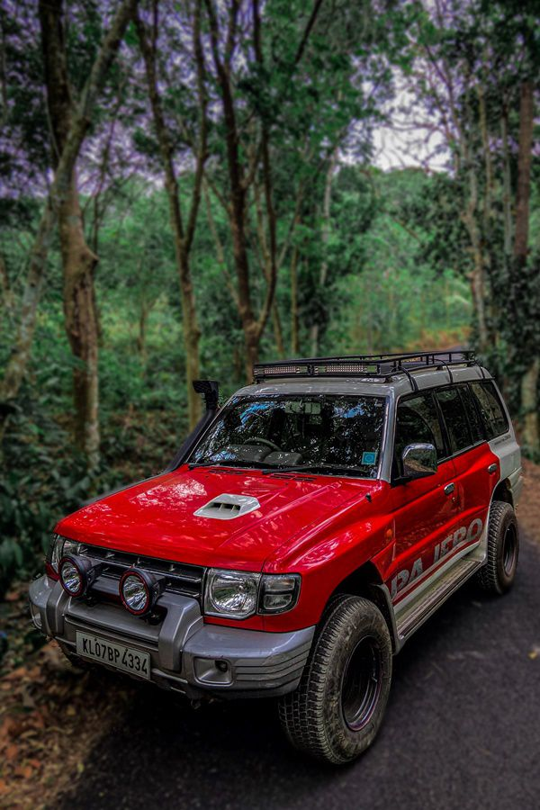 Pajero lights