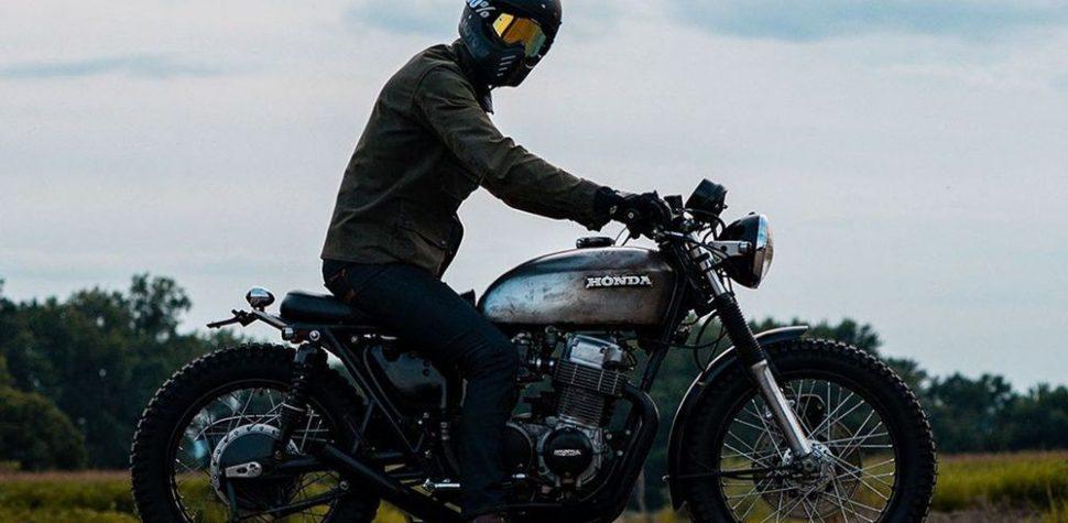 man ride cafe racer