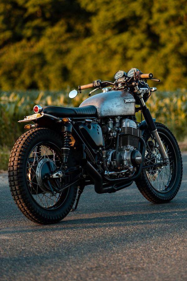 stunning bobber bike